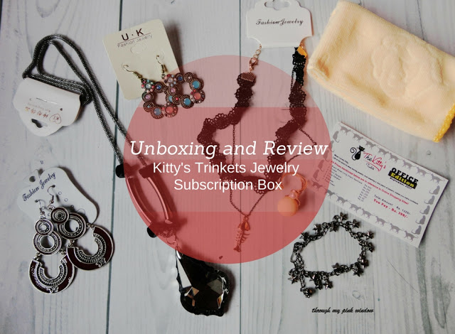 Unboxing and Review of Kitty's Trinkets Jewelry Subscription Box | September Office Edition