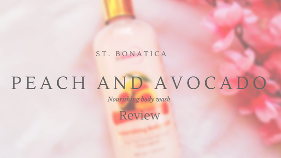 St. Botanica Peach and Avocado Nourishing Body Wash : Review
